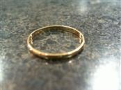 Child's Gold Ring 10K Yellow Gold 0.2g